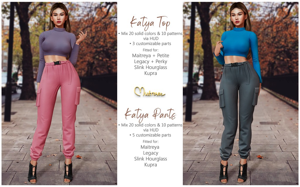Mutresse@Collabor88,October 2021-Katya Top and Katya Pants