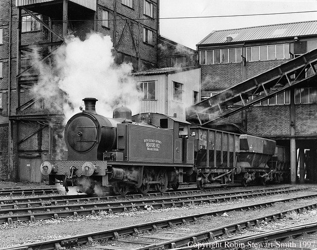 Celtic Energy Onllwyn Washery Screens - Meaford No 2 shunting hoppers on 31st August 1997