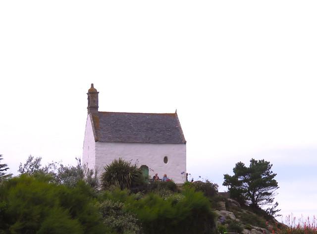 Finistère, Roscoff. Chapelle Sainte Barbe.