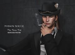 POISON ROUGE The Boss Hat (Unisex) @COSMOPOLITAN