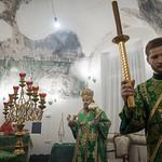 7 октября 2021, Всенощное бдение в Сергиевском храме (Тверь) | 7 October 2021, All-night vigil in the St. Sergius of Radonezh church (Tver)