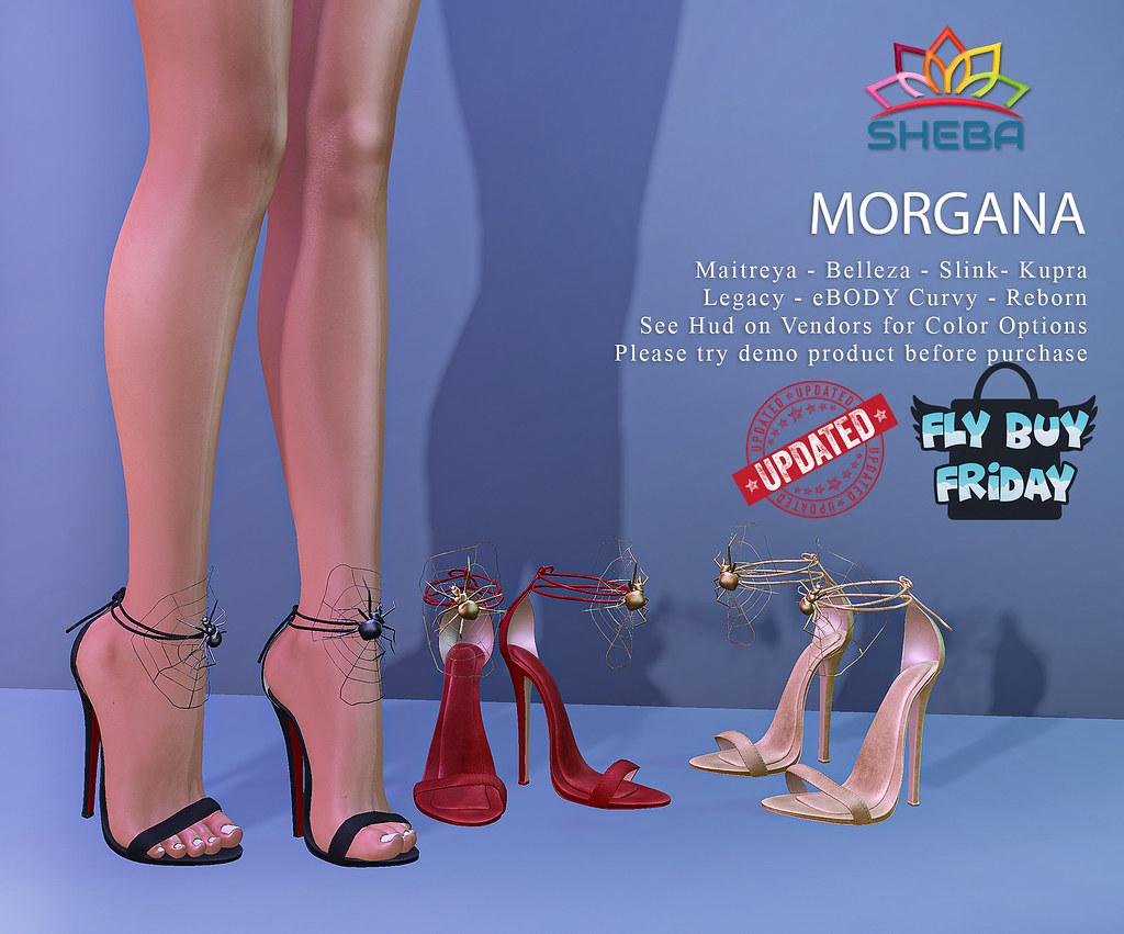[Sheba] Morgana Heels UPDATED aND @FBF!