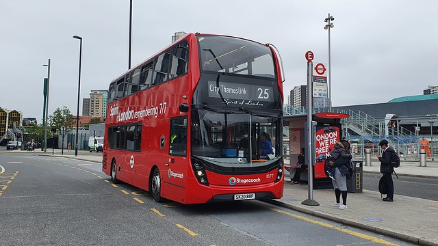 Stagecoach London 'Spirit of London' 11377 SK20BBF Route 25