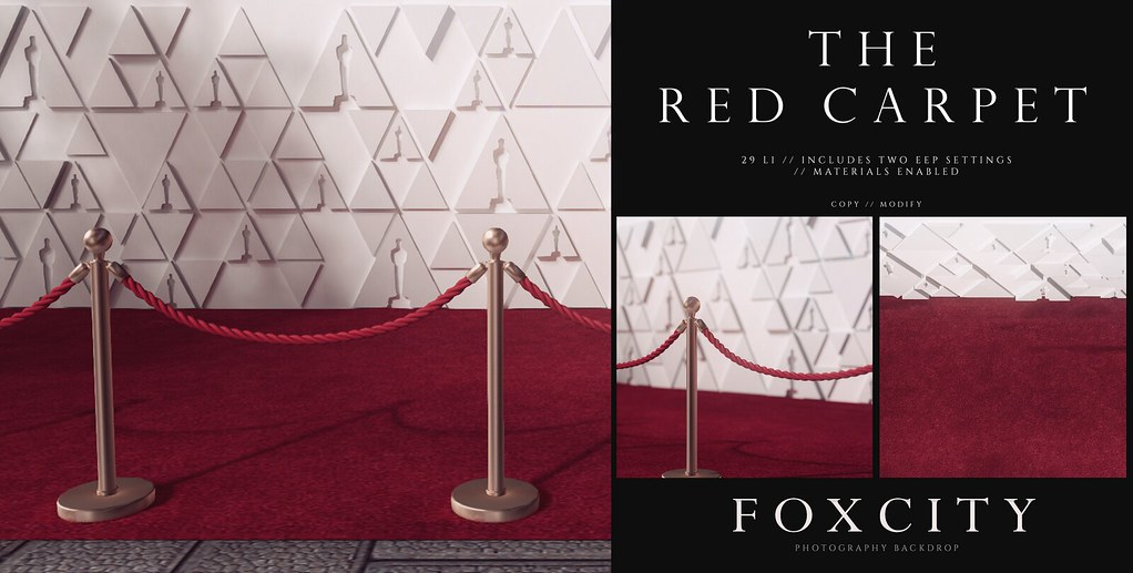 FOXCITY. Photo Booth – The Red Carpet