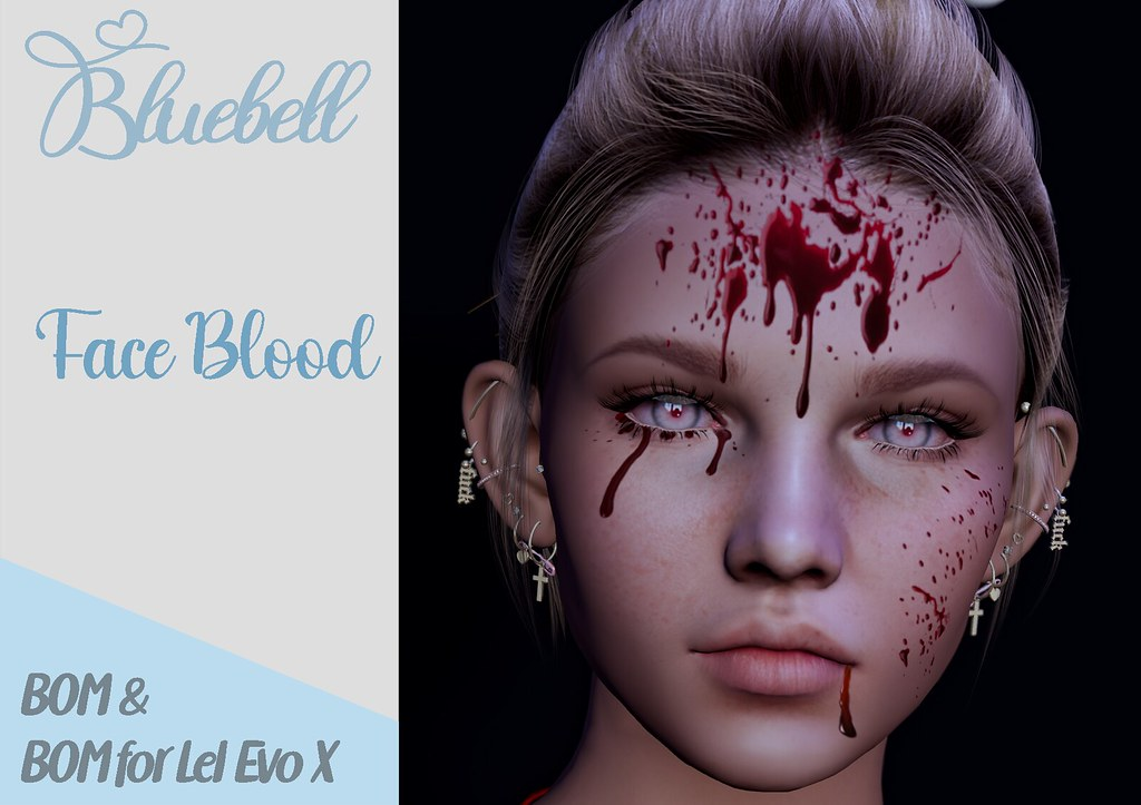 !  BLUEBELL – Face Blood
