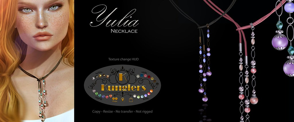 KUNGLERS Yulia necklace