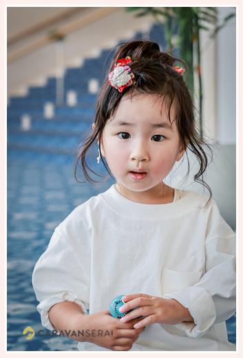 透明感のある写真 3歳の女の子