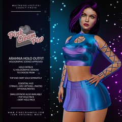 Arahnia Holo Outfit
