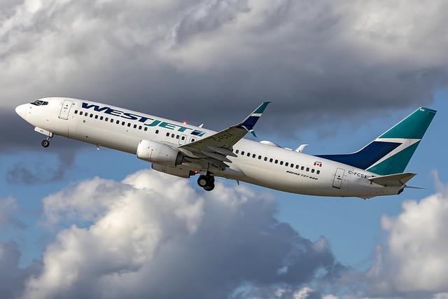 C-FCSX - Boeing 737-8CT(WL) - Westjet - KATL - Sept 2021