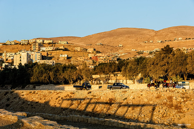 Evening light in Wadi Musa