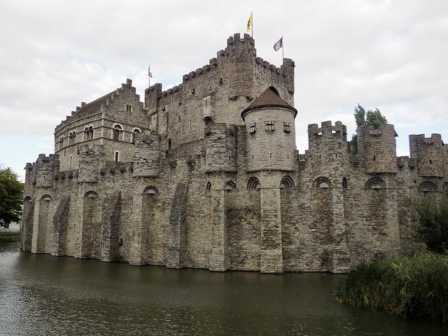 Gand - Château des comtes de Flandres