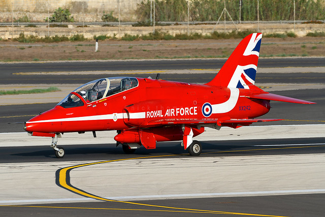 BAe Hawk T1 - XX242 - RAFAT - Royal Air Force - RAF Scampton