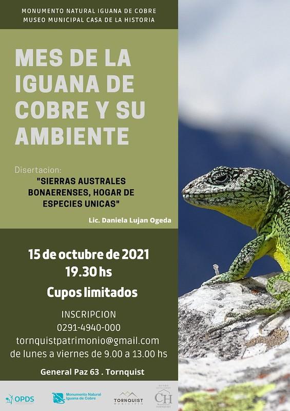 Charla iguanadecobre