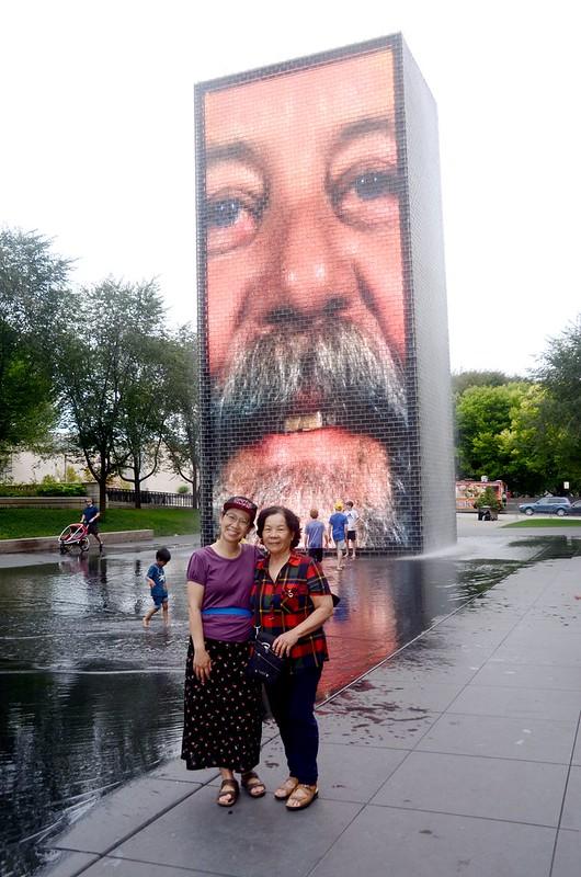 Crown Fountain, Millennium Park, Chicago  (7)