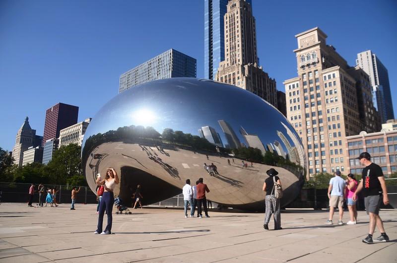 Cloud Gate(The Bean), Millennium Park, Chicago (2)