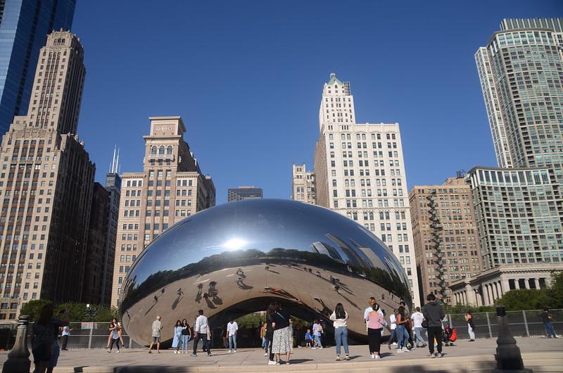 Cloud Gate(The Bean), Millennium Park, Chicago (1)