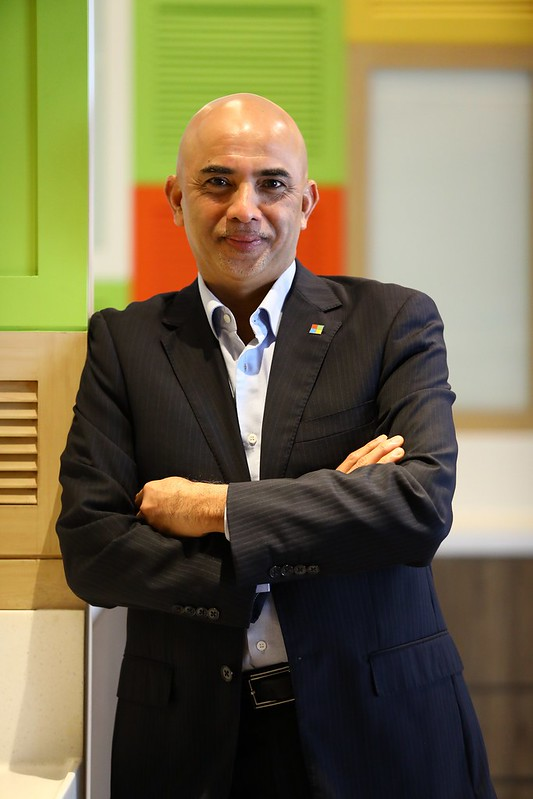 Picture 2 - K. Raman, Managing Director Of Microsoft Malaysia