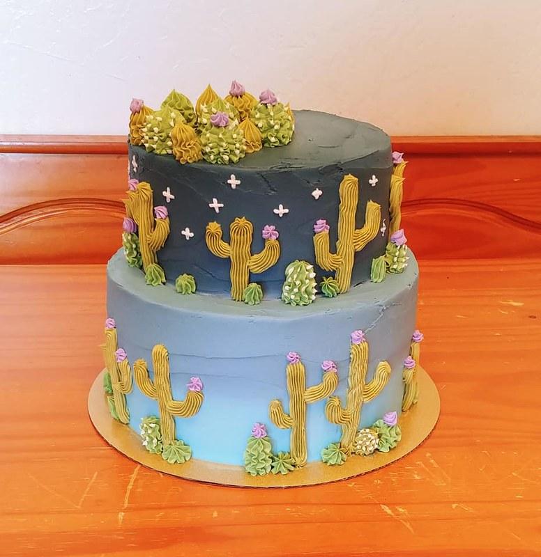 Cake by A Little Taste of Aloha Bakery