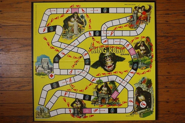King Kong Board Game, Board (Ideal 1963)