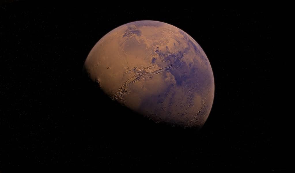 Un ancien lac de Mars avait des crues rapides