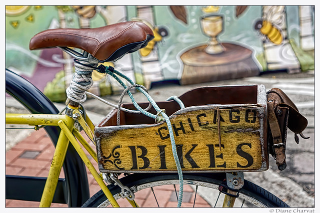 Wooden Bicycle Box