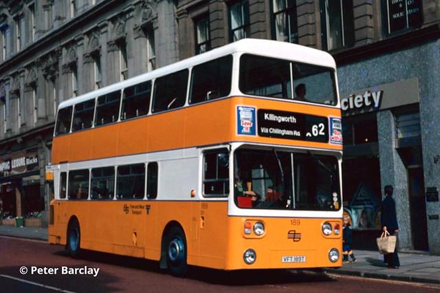 Tyne & Wear PTE 189 (VFT189T) - 1979