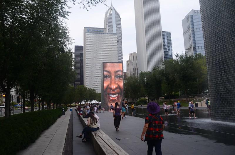 Crown Fountain, Millennium Park, Chicago  (1)