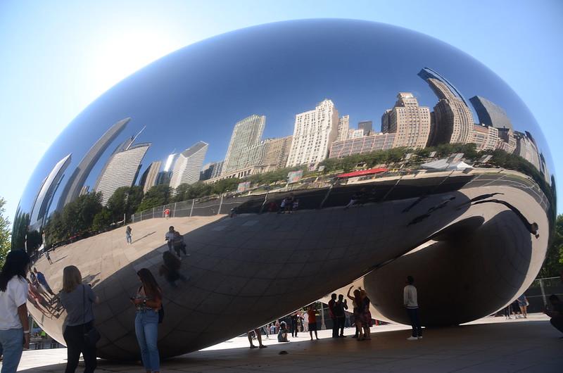 Cloud Gate(The Bean), Millennium Park, Chicago (3)