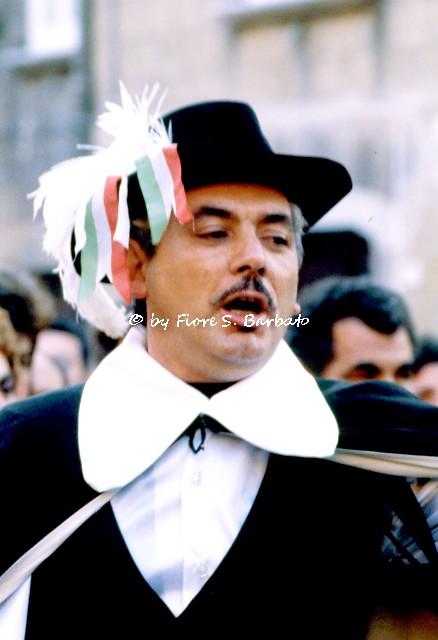 Pietravairano (CE), 1978, Sfilata di Carnevale e Rappresentazione