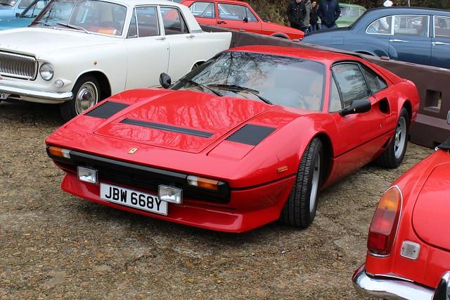 084 Ferrari 208GTB Turbo (1983) JBW 668 Y