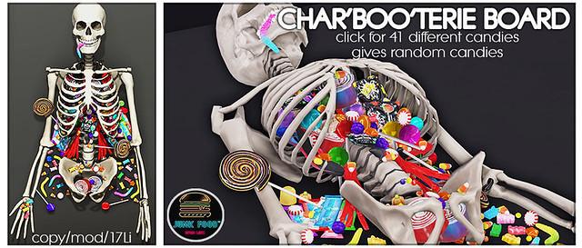 Junk Food - Char'Boo'terie Board Ad
