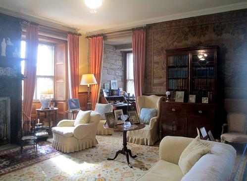 Queen Mum's room, Glamis Castle, Ahgus, Scotland