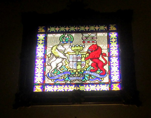 Stained Glass, Glamis Castle, Angus, Scotland