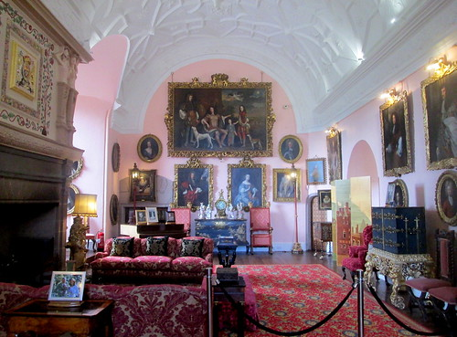 Drawing room, Glamis Castle, Angus, Scotland