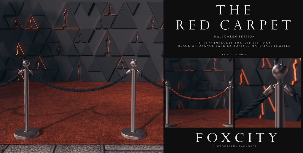 FOXCITY. Photo Booth – The Red Carpet (Halloween EDT)