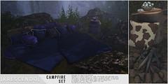[Kres] Campfire Set