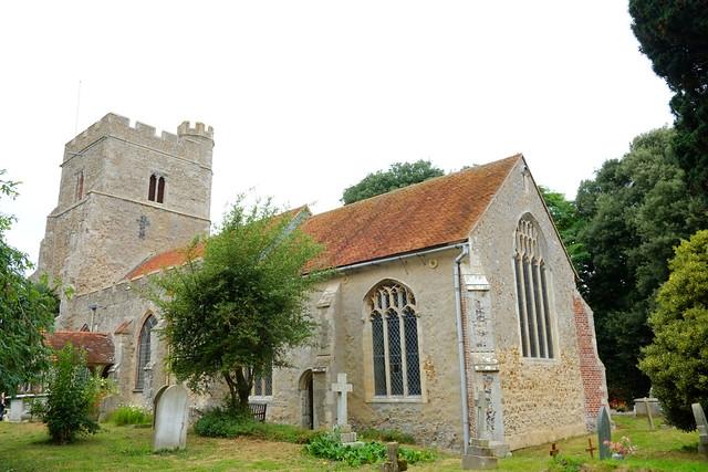 Parish Church East Mersea..Essex