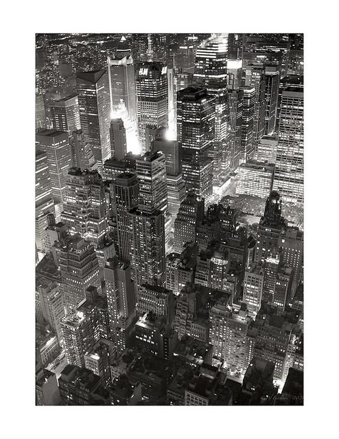 New York City on BW film, Leica M6, Nokton 35mm F1.2