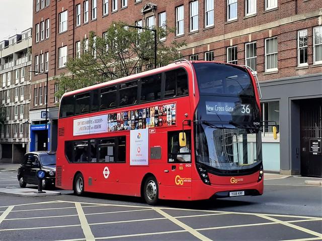 YX18 KRF (EH234) Go-Ahead London