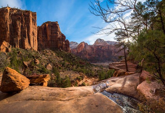Zion Canyon View