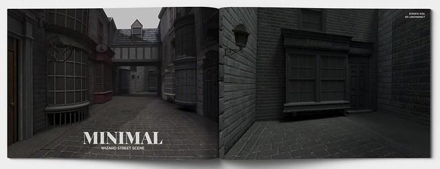 MINIMAL - Wizard Street Scene