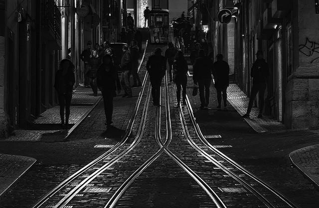 Nachtleben in Lissabon