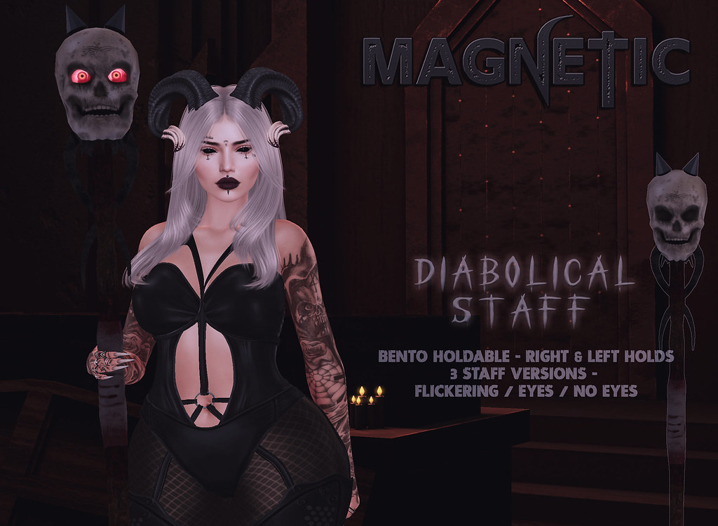 Magnetic – Diabolical Staff