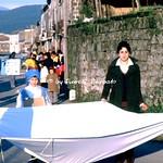 """Pietravairano (CE), 1978, Sfilata di Carnevale e Rappresentazione """"La Donna Perduta""""."""