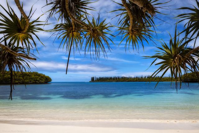 Beach of  Île des Pins