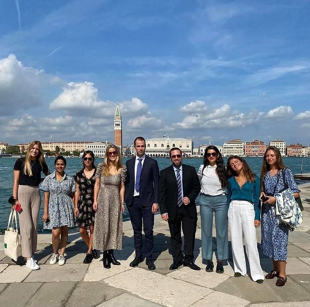Euopean Heritahe Young Ambassadors at the European Heritage Summit 2021 in Venice