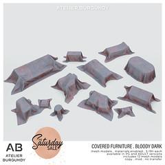 Atelier Burgundy . Bloody Covered Furniture dark TSS