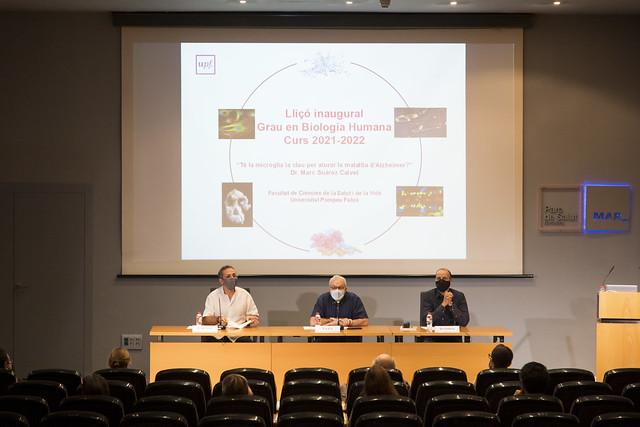 Lliçó inaugural de Biologia Humana 2021-2022