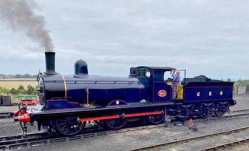564 'Great Eastern Railway' Class Y14 0-6-0. Stratford built steam Locomotive on Dennis Basford's railsroadsrunways.blogspot.co.uk'