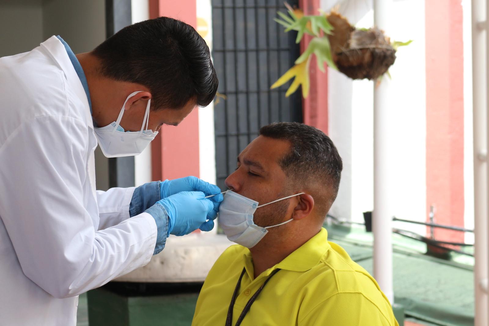 Jornada de pruebas PCR para los trabajadores del Ministerio del Poder Popular para Relaciones Exteriores